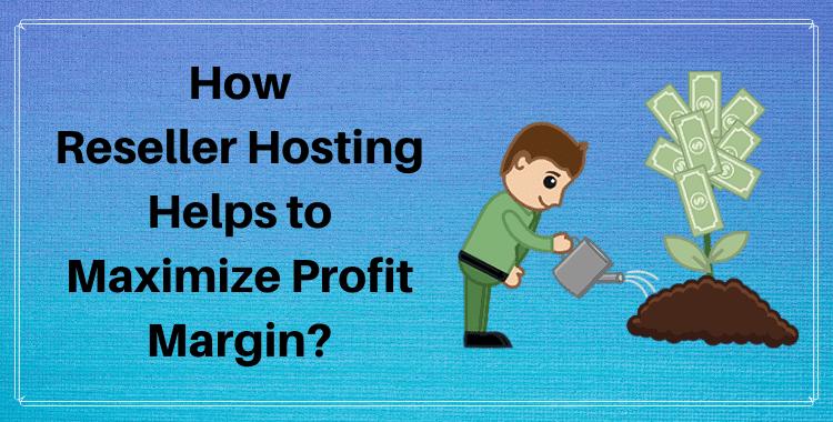 Reseller Hosting Profit Margins